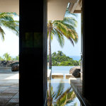 Atrium with views through to lanai and ocean beyond